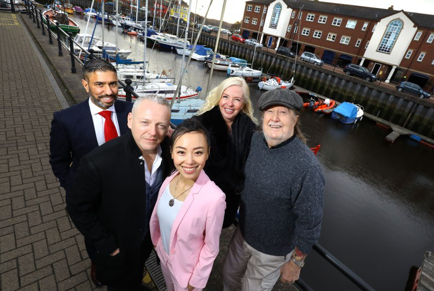northern-niche-newcastle-international-film-festival-group-photo-launch